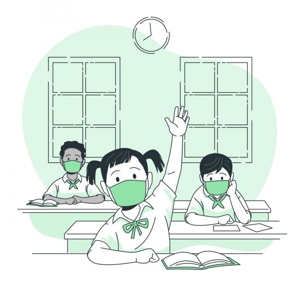 교육부가저학년 등교 확대 방침을 내놨다. 3월2일 시작되는 신학기부터 유치원생과 초등학교 1~2학년은 사회적 거리두기 2단계까지 매일 등교할 수 있다. ⓒFreepik