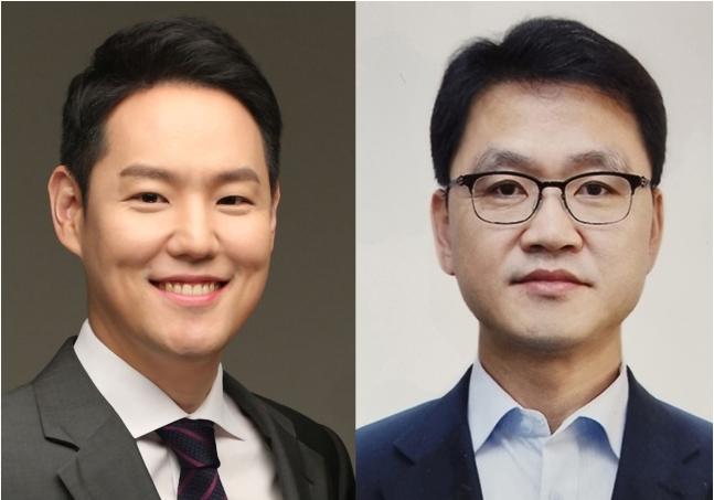 김한규(왼쪽) 청와대 정무비서관, 이승복 교육비서관. 사진=청와대 제공
