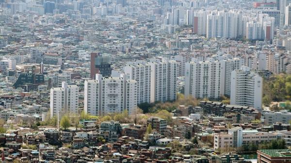서울 영등포구 63아트 전망대에서 바라본 서울시내 ⓒ뉴시스
