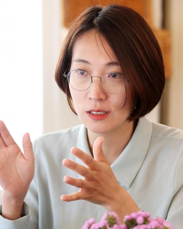 장혜영 정의당 의원은한국 국회 내 성소수자에 대한 무지와 편견을 비롯해 이를 전시하거나 적극적으로 이용하는 혐오정치를 비판했다. ⓒ장혜영 의원실
