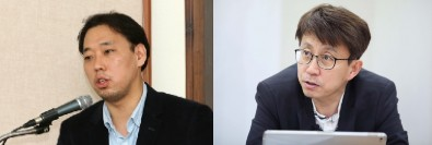 (왼쪽부터) 홍성수 숙명여대 법학부 교수, 정재훈 서울여대 사회복지학과 교수 ⓒ여성신문
