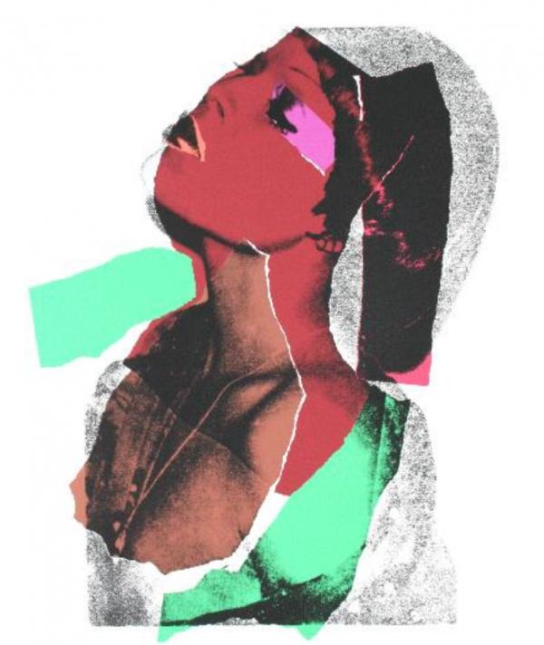 앤디 워홀, Ladies and Gentlemen, 종이에 실크스크린, 110.5x72.4 cm (1975) ⓒ2021 The Andy Warhol Foundation for the Visual Arts, Inc. / Licensed by SACK, Seoul/'앤디 워홀 특별전' 사무국 제공