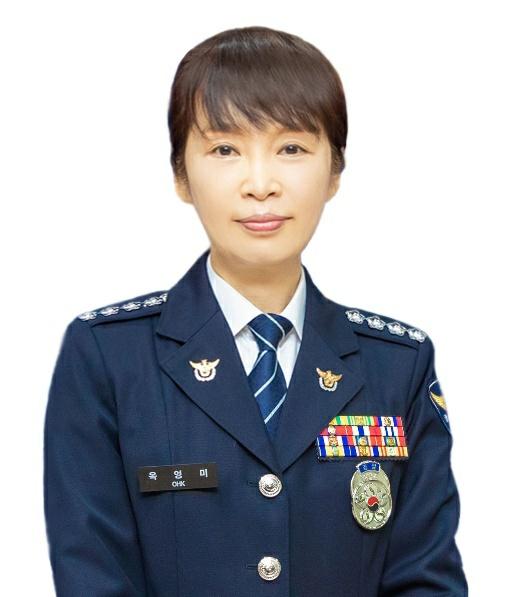 부산 영도경찰서장으로 임명된 옥영미(57) 총경.  ⓒ부산경찰청