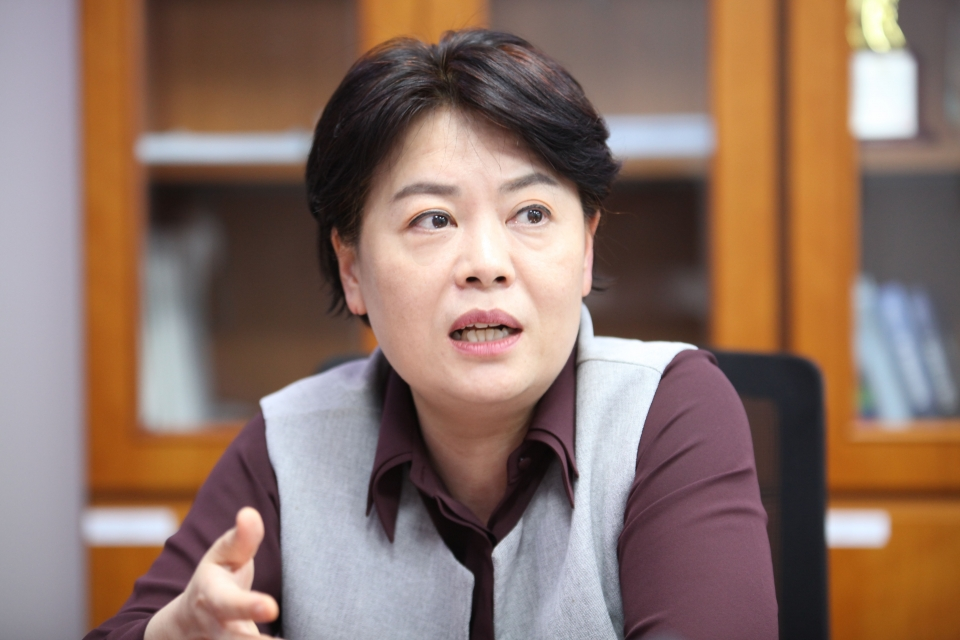 윤희숙 국민의힘 의원 ⓒ홍수형 기자