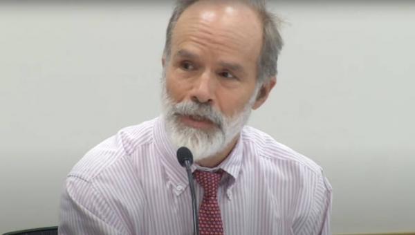 존 마크 램지어 교수. 사진=하버드 로스쿨 공식 유튜브 영상 캡처