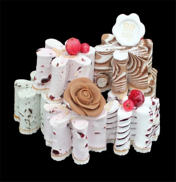 비알코리아주식회사가 디자인권을 등록한 배스킨라빈스 아이스크림 케이크(디자인 등록번호 30-0830855). ⓒ비알코리아주식회사