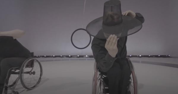 현대무용단 '고블린파티'의 댄스필름 '원' 영상 캡쳐. ⓒ한국장애인문화예술원