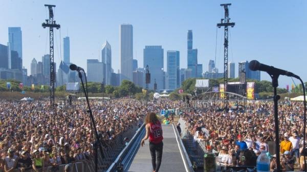 미국 시카고에서 열리는 세계 최대 규모 록 음악축제 '롤라팔루자' ⓒAP/뉴시스