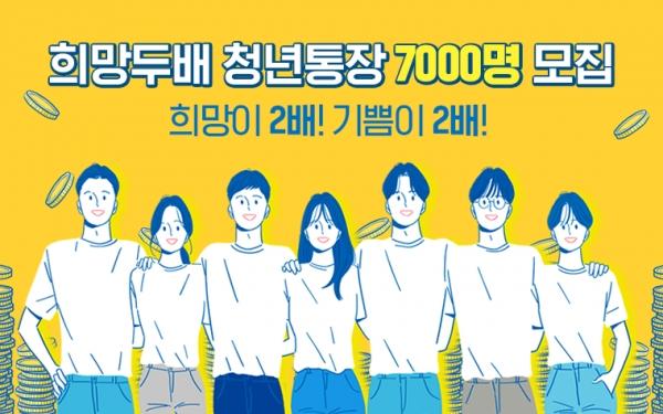 서울시 '희망두배 청년통장' 사업 포스터 ⓒ서울시