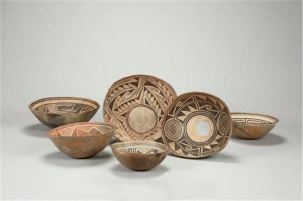 미국 원주민이 만든 그릇. ⓒ한성백제박물관