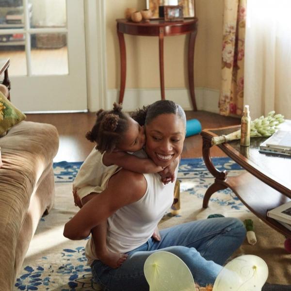 미국여자 육상 앨리슨 펠릭스(35) 선수와 그의 딸 캠린(3). ⓒ앨리슨 펠릭스 선수 인스타그램 캡처