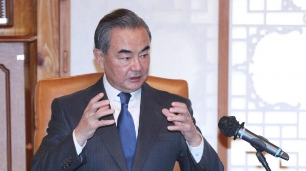 왕이 중국 외교부장 ⓒ뉴시스