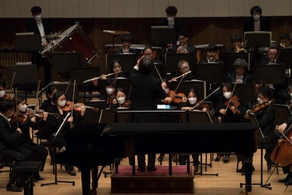 2020년 10월 6일부터 11월 13일까지 대구콘서트하우스에서 열린 '2020 월드오케스트라 시리즈' 공연 장면. ⓒ대구콘서트하우스 제공