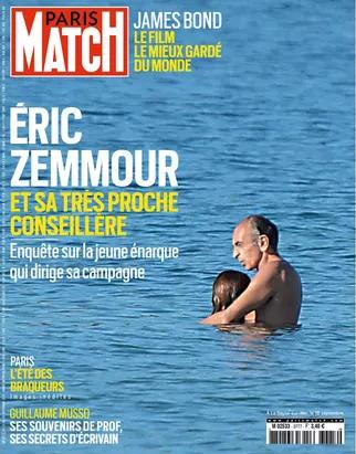 프랑스 주간지 '파리마치'가 보도한 에릭 제무르의 사진.  ⓒ파리마치 갈무리