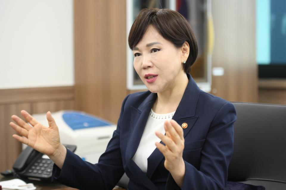 전현희 국민권익위원장 ⓒ홍수형 기자