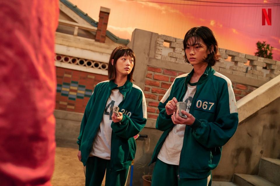 넷플릭스 오리지널 시리즈 '오징어 게임'. ⓒ넷플릭스