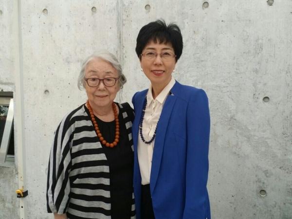 김세영 교수와 딸 김소임 교수 ©김소임