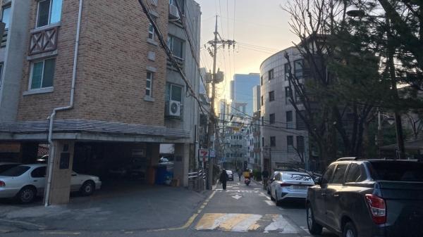 서울 강남구 역삼동 빌라 밀집 지역 ⓒ전성운 기자