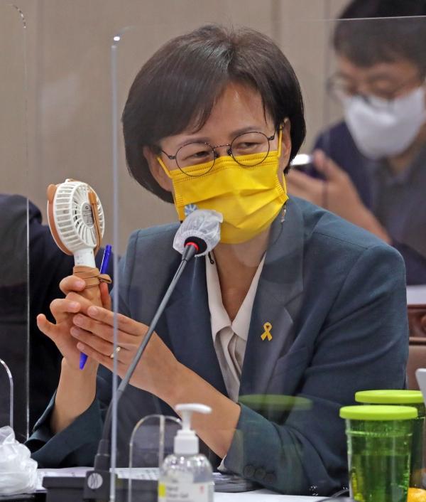 강은미 정의당 의원. ⓒ뉴시스·여성신문