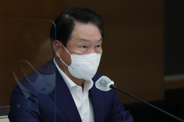 최태원 SK회장 ⓒ뉴시스