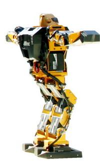 2005년에 전시되었던 로봇.