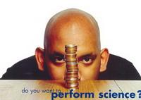 연극에 과학실험을 접목한 '펑크 사이언스' 프로그램의 포스터.