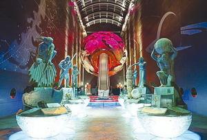 로마네스크 양식의 수려한 외벽을 뽐내는'자연사박물관'의 전경.cialis coupon free   cialis trial coupon