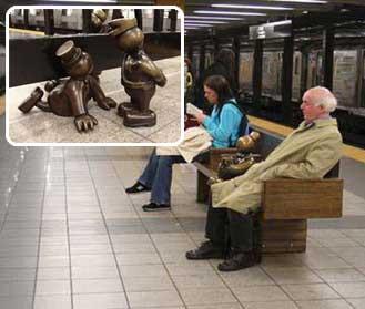 톰 오터니스의 청동상이 설치된 뉴욕 지하철.sumatriptan patch http://sumatriptannow.com/patch sumatriptan patchsumatriptan 100 mg sumatriptan 100 mg sumatriptan 100 mg