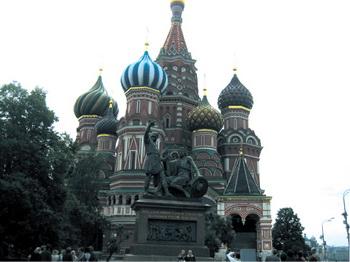 러시아 건축물의 백미로 붉은광장에 우뚝 서 있는 성바실리 사원.sumatriptan patch sumatriptan patch sumatriptan patch