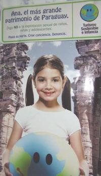 '더 코드'의 아동섹스 관광 근절을 위한 홍보 포스터.