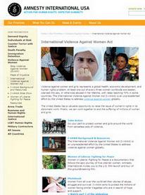 국제여성폭력방지법의 의회 통과를 위한 지원활동을 벌여온 국제사면위원회(Amnesty International) 미국지부 웹사이트.free prescription cards cialis coupons and discounts coupon for cialis