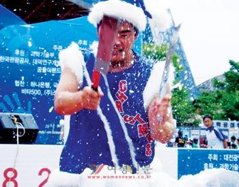 물과 얼음을 활용한 시원한 '아이스난타'.   gabapentin withdrawal message board http://lensbyluca.com/withdrawal/message/board gabapentin withdrawal message board