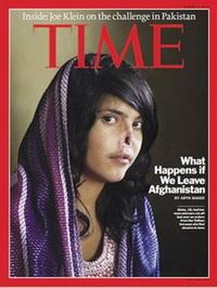 지난 8월 9일 '타임' 표지에 등장한 명예살인의 피해자 비비 아이샤.abortion pill abortion pill abortion pill