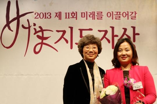 최순영 살림정치여성행동 대표와 이수진 연세의료원노동조합 위원장