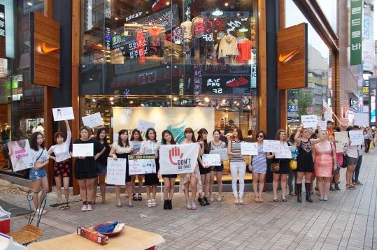 성평등사회 공모사업을 통해 한국여성재단과 파트너 단체 인연을 맺은 경남여성회의 '커피파티' 현장. ⓒ한국여성재단