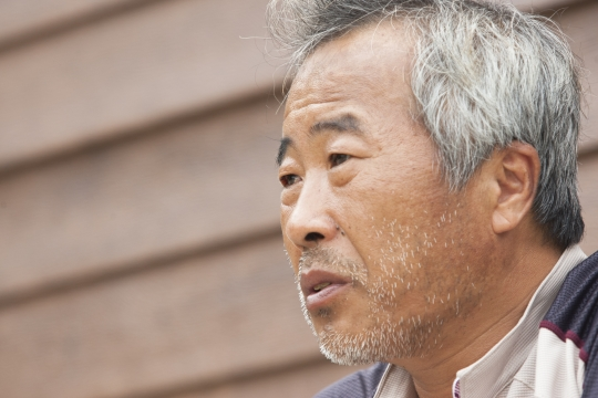 이승현군의 아버지 이호진씨. ⓒ이정실 여성신문 사진기자