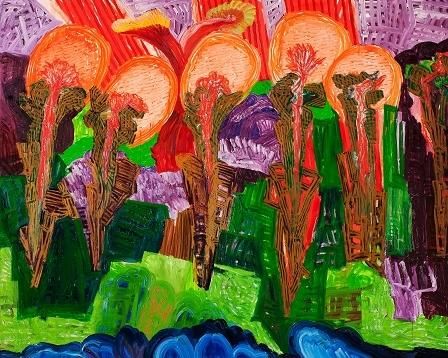 유근영 / 엉뚱한 자연 / 181x227cm / oil on canvas / 2010