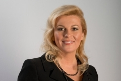 크로아티아 첫 여성 대통령으로 당선된 콜린다 그라바르-키타로비치. ⓒ크로아티아 선거위원회