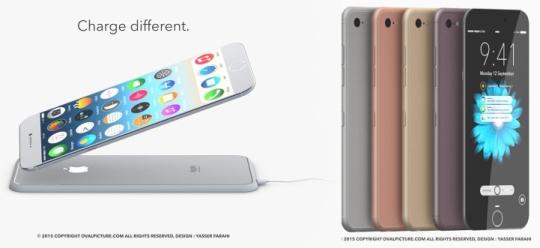 아이폰7의 디자인 콘셉트가 공개됐다. ⓒYasser Farahi