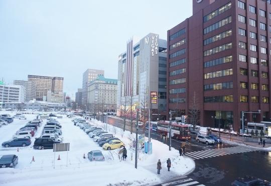 미국식 도시 개발 계획에 따라 개발된 삿포로시. ⓒ민원석