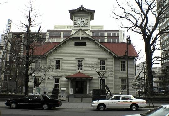 삿포로 시계탑 ⓒWikimedia Commons