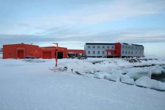 남극 세종기지에서 가장 많이 앓는 질환 1위는 외상, 2위는 소화기 증상, 3위는 피부 증상으로 알려졌다. ⓒ국토교통부