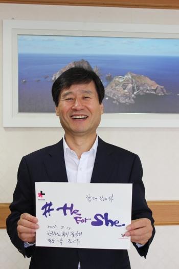 박진우 한국노인복지중앙회장 ⓒ여성신문