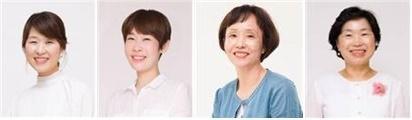 왼쪽부터 김경애, 김희진, 오경훈, 윤혜연씨. ⓒ서울시