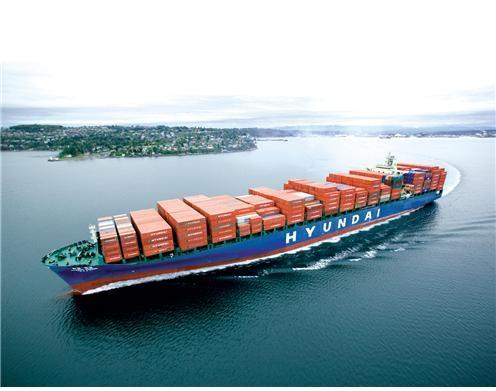 현대상선 컨테이너 선박 ⓒ현대상선