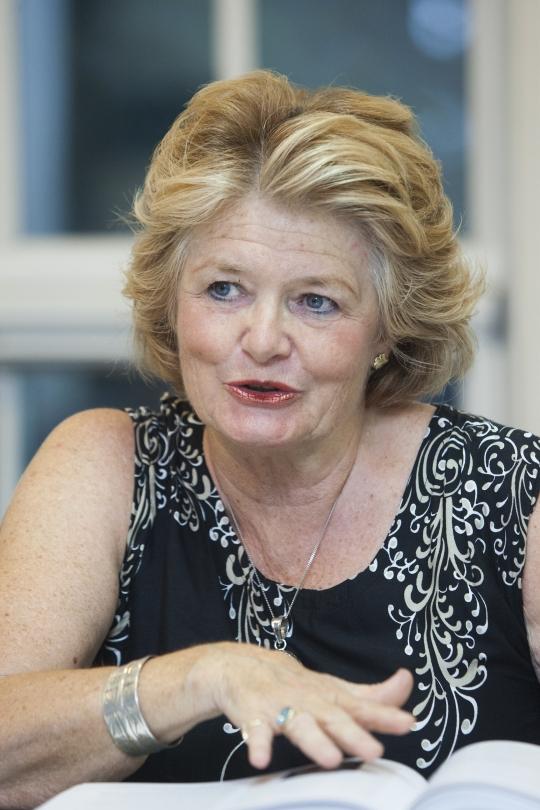 애니 반더미어 네덜란드 판소피아 연구소 교수 ⓒ이정실 여성신문 사진기자
