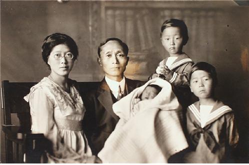 민찬호 선생 가족 사진 ⓒ국가보훈처