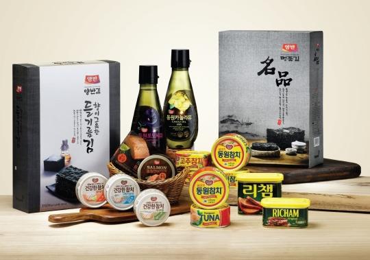 동원F&B, 추석 선물세트 200여종 출시 ⓒ동원F&B