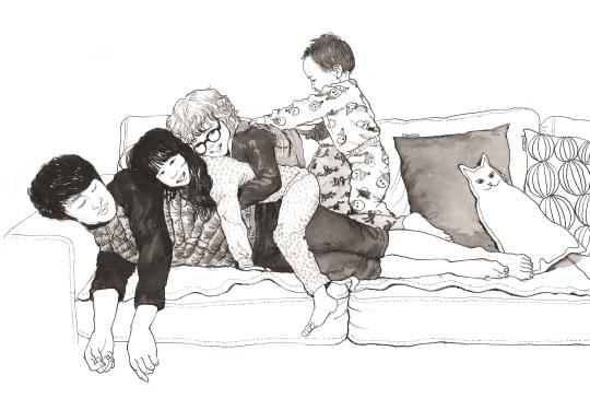 『열 살 미루의 입양 마주이야기』 의 한 장면. ⓒ이설아