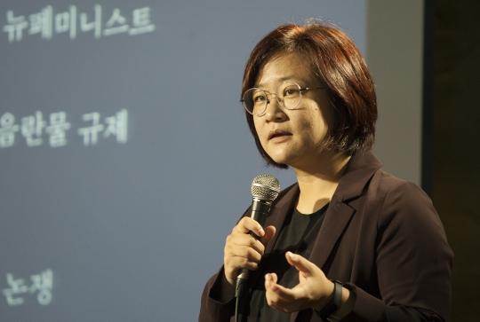 여성학 연구자 권김현영 ⓒ이정실 사진기자